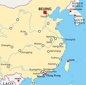 Kiinan kartta
