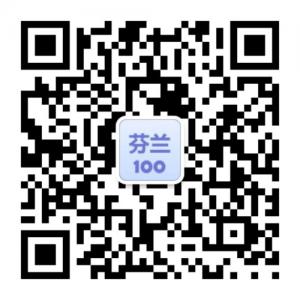 Finland100 WeChat QR code